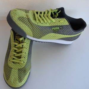 Puma Lime Green Men's Athletic Shoes size 10